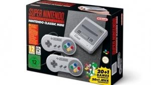Die Verpackung des SNES Classic Mini
