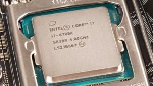 Verschiedene CPUs von Intel hatten ein Bug im Microcode.