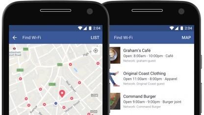 Die neue Funktion hilft dem Nutzer, öffentlich zugängliche WLAN-Hotspots zu finden.