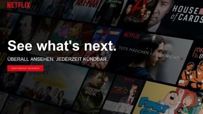 Netflix testet höhere Preise in Österreich