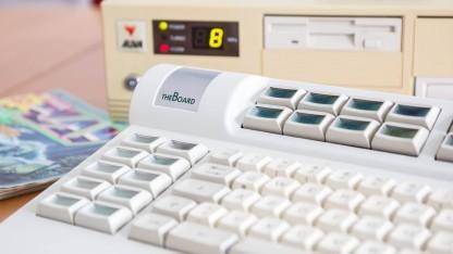 Das LC Board an einem DOS-Rechner