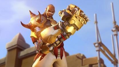 Doomfist hat keinen goldenen Colt, aber eine goldene Faust.