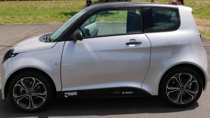 Der Elektrokleinwagen e.Go nutzt ein 48-Volt-System von Bosch.