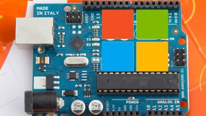 Microsoft macht Entwicklerwerkzeuge für Arduino quelloffen.
