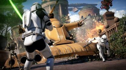 Artwork von der Map auf Naboo in Star Wars Battlefront 2