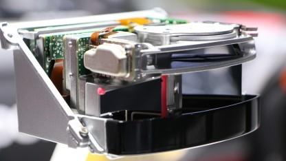 Der Laserscanner von Valeo soll das automatisierte Fahren des neuen Audi A8 ermöglichen.