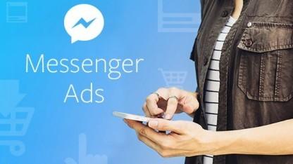 Mit dieser Grafik stellt Facebook die Werbung im Messenger vor.