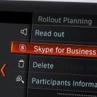 Arbeiten beim Pendeln: 5er BMW mit Skype-Anbindung für die Konferenz unterwegs