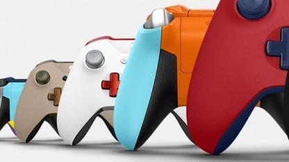 Gamepad aus dem Xbox Design Lab