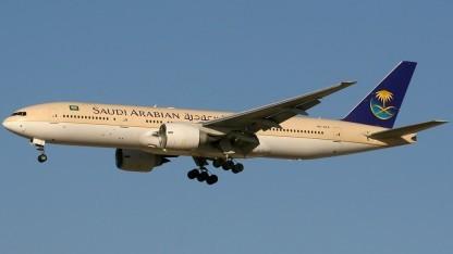 Die Saudi Arabian Airlines sind nicht mehr vom Laptop-Verbot betroffen.
