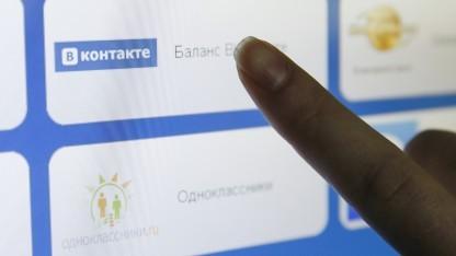 Das russische soziale Netzwerk Vkontakte wäre von dem neuen Gesetz ebenfalls betroffen.