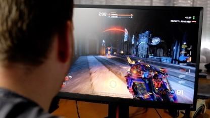 Wir fraggen in Quake Champions bei 240 Hertz