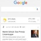 Update: Googles Newsfeed wird persönlicher