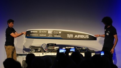 Team Warr gewinnt zweiten Hyperloop-Wettbewerb