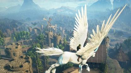 Dark and Light schickt Spieler in eine schöne Fantasywelt.