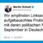 Falscher Schulz-Tweet: Junge Union macht Wahlkampf mit Fake-News