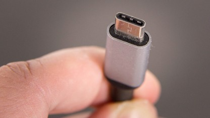 Ein USB-Typ-C-Stecker