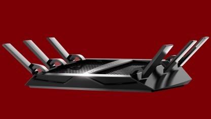 Der Netgear Nighthawk X6S hat sechs Antennen.