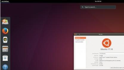 Die Vorabversionen von Ubuntu 17.10 nutzen schon Gnome.