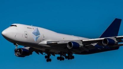 Grafikkarten für Ethereum werden per Flugzeug geliefert.