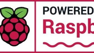 """Powered By Raspberry Pi""-Logo"