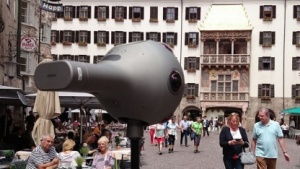Wir waren mit der Nokia OZO in Innsbruck unterwegs.