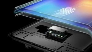 Der Fingerabdrucksensor sitzt unter dem Display.