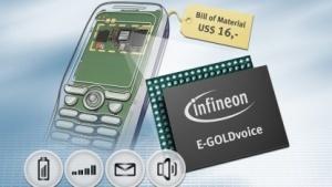 Produktbilder von Qimonda aus der Zeit der Insolvenz