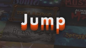 Artwork des Spiele-Aboportals Jump.