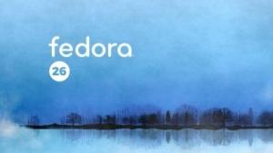Fedora 26 steht bereit.
