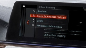Skype for Business im BMW