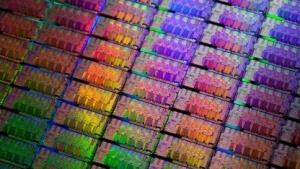 Wafer mit älteren SNB-Chips