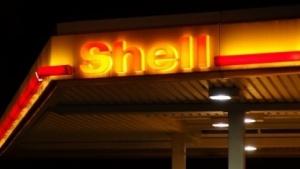 Shell-Tankstelle in Berlin