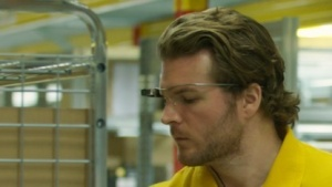 Die Google Glass im Einsatz bei DHL