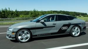 """Der Audi-Testwagen """"Jack"""" wird nun auch von Kunden ausprobiert."""