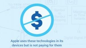 Apple soll für Patente nicht zahlen.