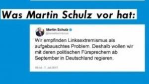 Der gefakte Tweet von SPD-Chef Martin Schulz