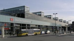 Bahnhof Berlin Südkreuz: reichlich mit Überwachungskameras ausgestattet