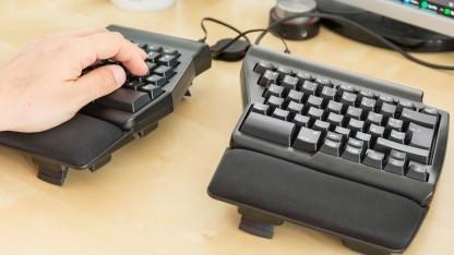 Das Ergo Pro Keyboard von Matias