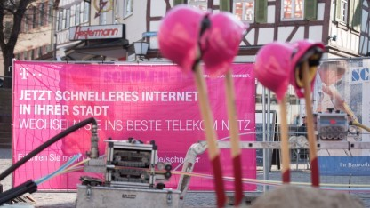 Netzausbau der Deutschen Telekom