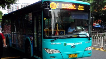 In Shenzhen fahren bereits heute sehr viele E-Busse.