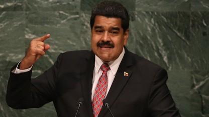 Maduro vor der Uno.