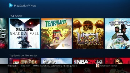 Die Beta-Bibliothek von Playstation Now
