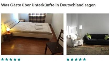Airbnb: eine Auswahl privater Anbieter