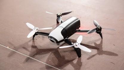 Kameradrohne Parrot Bebop (Symbilbild): Drohne filmt Skifahrer aus sicherer Entfernung