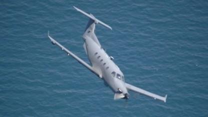 Ein US-Spionageflugzeug