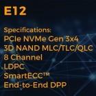 SSD-Controller: Phisons neuer E12 soll über 3 GByte/s erreichen