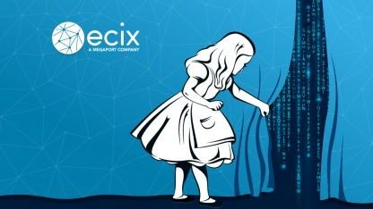 Werbegrafik vom ECIX