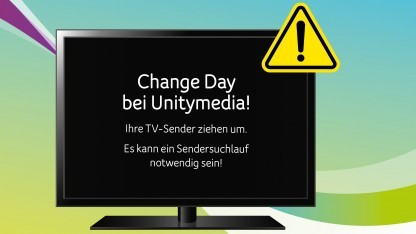 Change Day bei Unitymedia