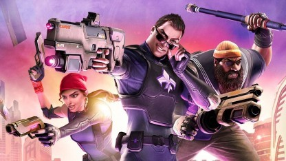 Artwork von Agents of Mayhem